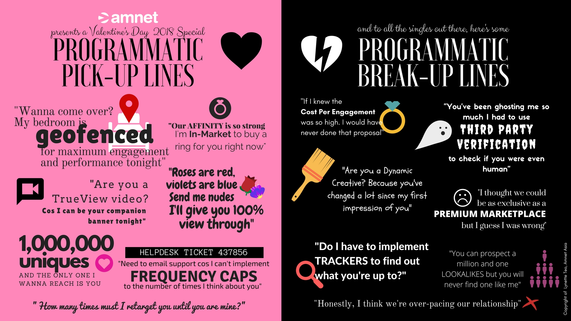 Programmatic pick up lines to impress your Valentine ...