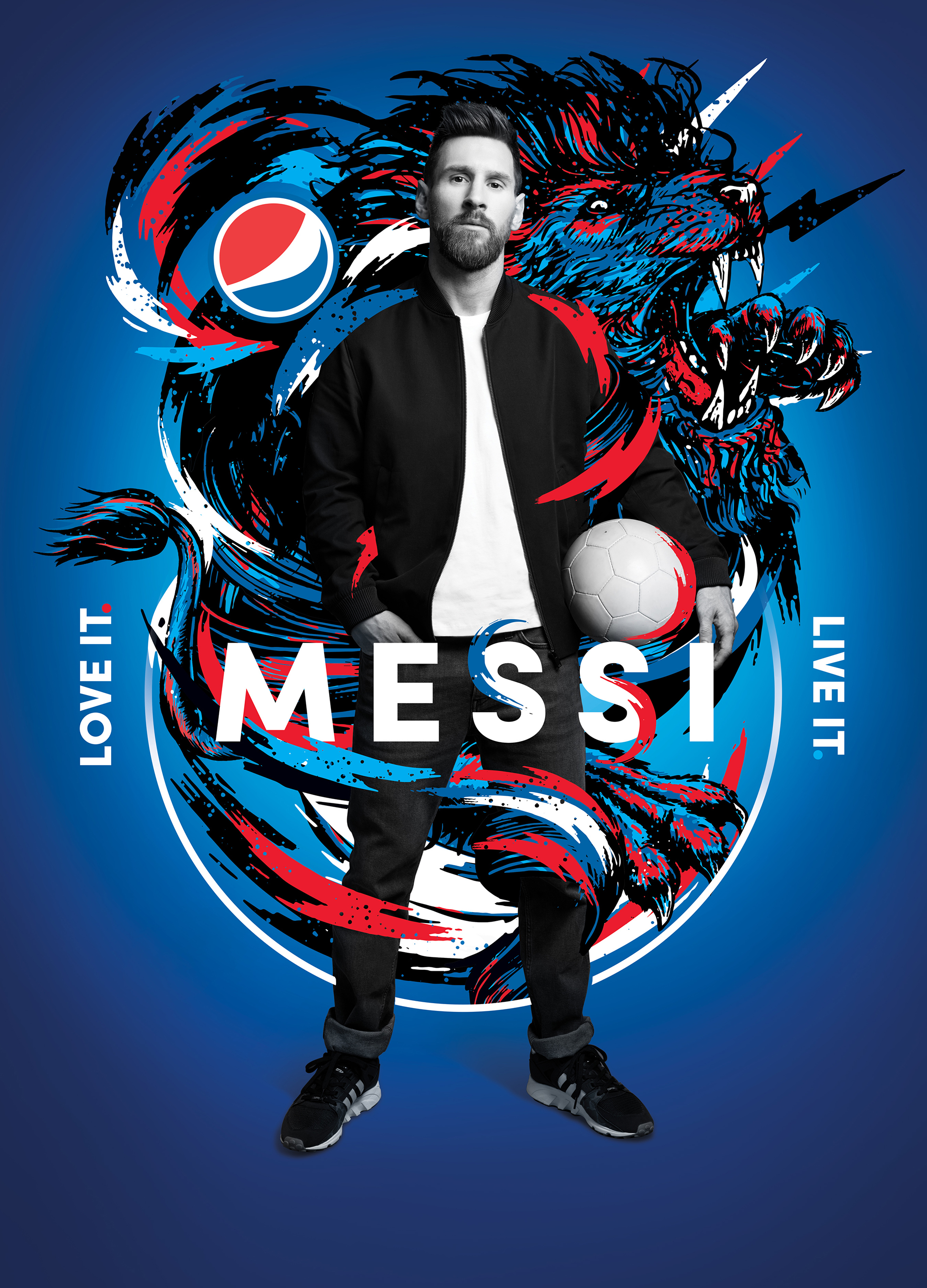 The Best Paint Pepsi Partners With Messi And Other Stars For Global