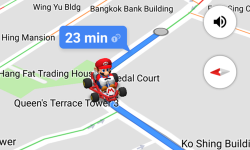 Drive around Google Maps with Super Mario | Marketing Interactive on