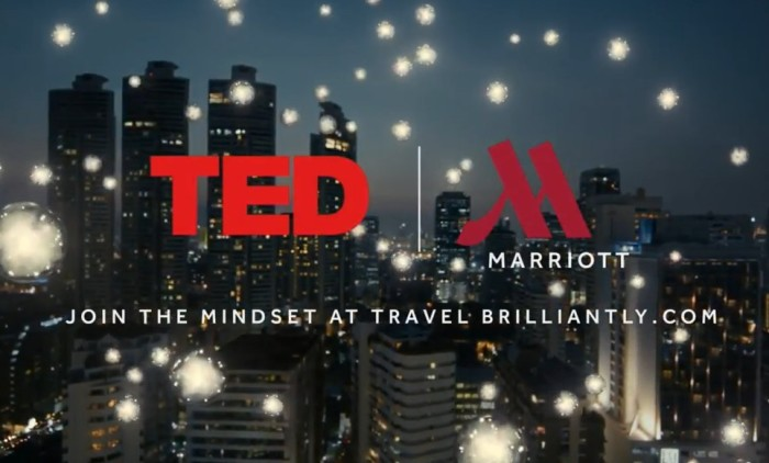 Marriott Hotels expands partnership with TED Talks