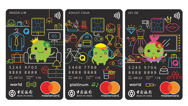 Bank Of China And Qoo10 Unveil Co Brand Credit Card