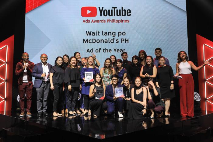 YouTube Video Awards Night