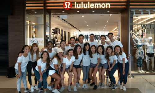 9408b75b0b Lululemon opens newly renovated ifc shop with great fanfare   Marketing  Interactive