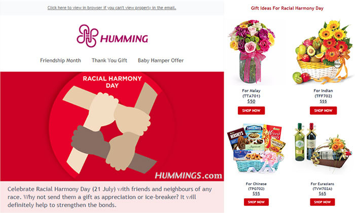 Flower shop creates race-themed bouquets and gift baskets