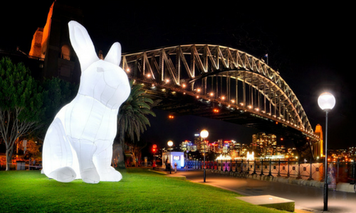 giant moon rabbit to land in hong kong for mid autumn festival