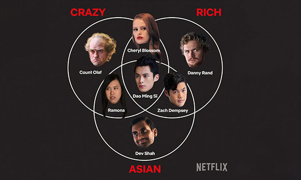Netflix gives its own spin to Crazy Rich Asians movie | Marketing