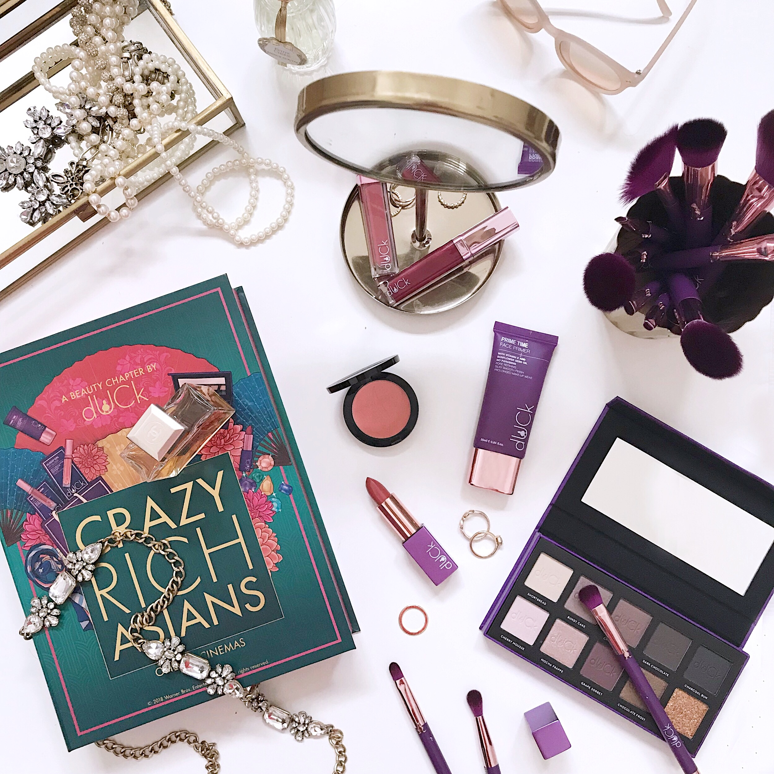 Vivy Yusof's dUCk Cosmetics jumps on Crazy Rich Asians hype