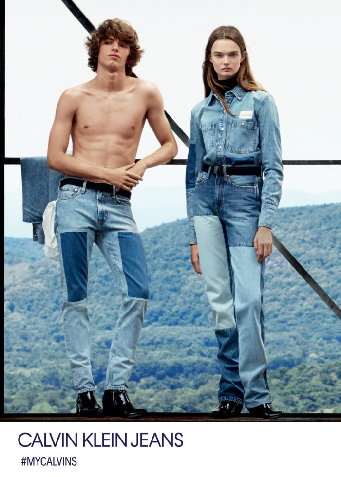 d171db62 Calvin Klein launched Fall 2018 multimedia campaign featuring new jeans