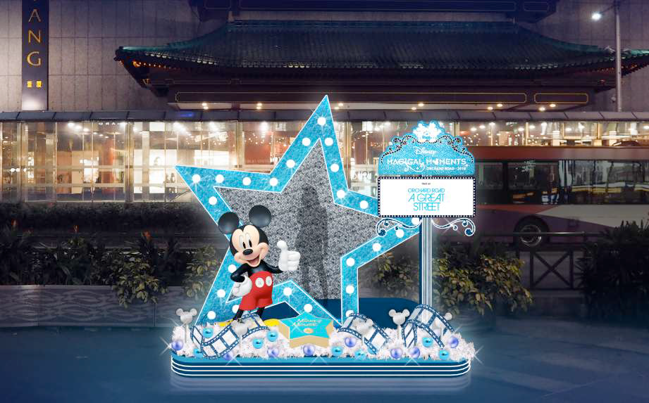 Orchard Road Gets First Branded Light Up In 35 Year History