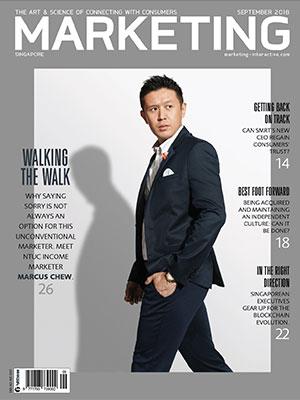 Marketing magazine Singapore, September 2018