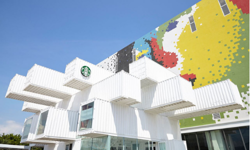 Starbucks Opens First Sustainable Container Store In