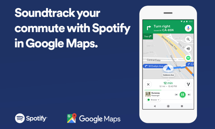Google Maps gets musical integration with Spotify ... on google maps ch, google maps nm, google maps ut, google maps de, google maps il, google maps iowa, google maps karnataka, google maps nv, google maps ad, google maps tx, google maps vt, google maps water, google maps ms, google maps nc, google maps au, google maps ga, google maps oh, google maps wi, google maps nd, google maps ag,
