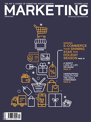 Marketing magazine Singapore, October 2018