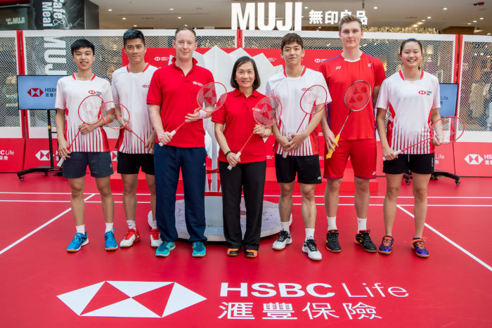 HSBC Life features Olympic gold medalists in City Badminton