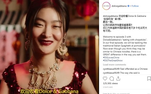 D&G accused of racism in Chinese chopsticks ads   Marketing