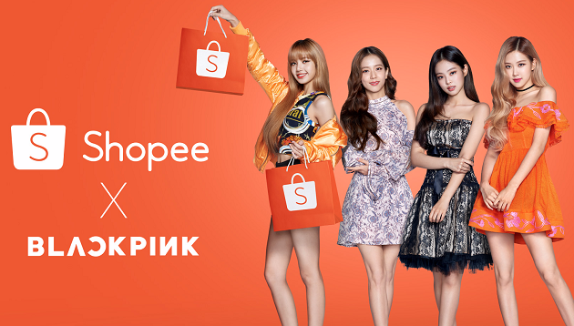 Image result for shopee blackpink
