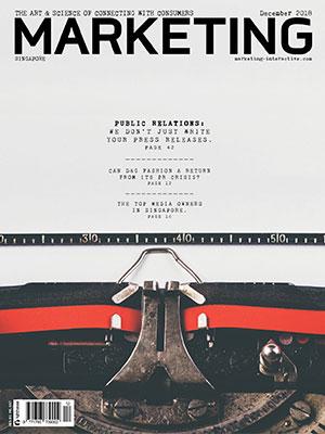 Marketing magazine Singapore, December 2018