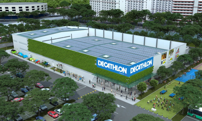 Decathlon SG Lab creates experience zones to disrupt  conventional ... e5d8a9665ce2