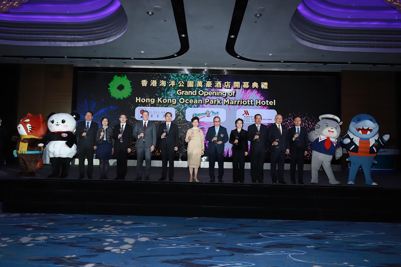 Hong Kong Ocean Park Marriott Hotel officially opens