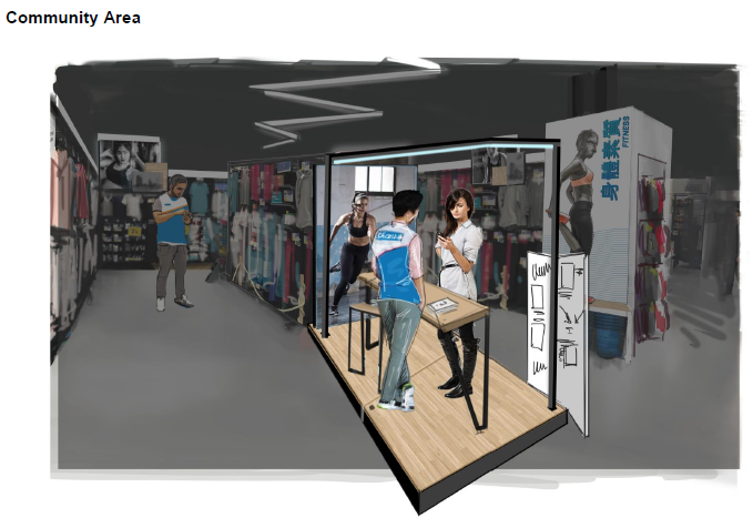 6afef7638 Decathlon Hong Kong has also incorporated autonomous checkout into the  planned launch. Users will be able to make purchases through the Decathlon  mobile app ...