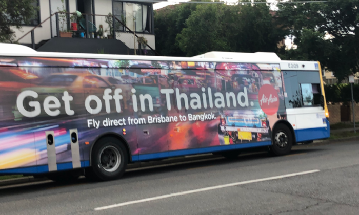 AirAsia ad in Australia gets called out for promoting sex tourism