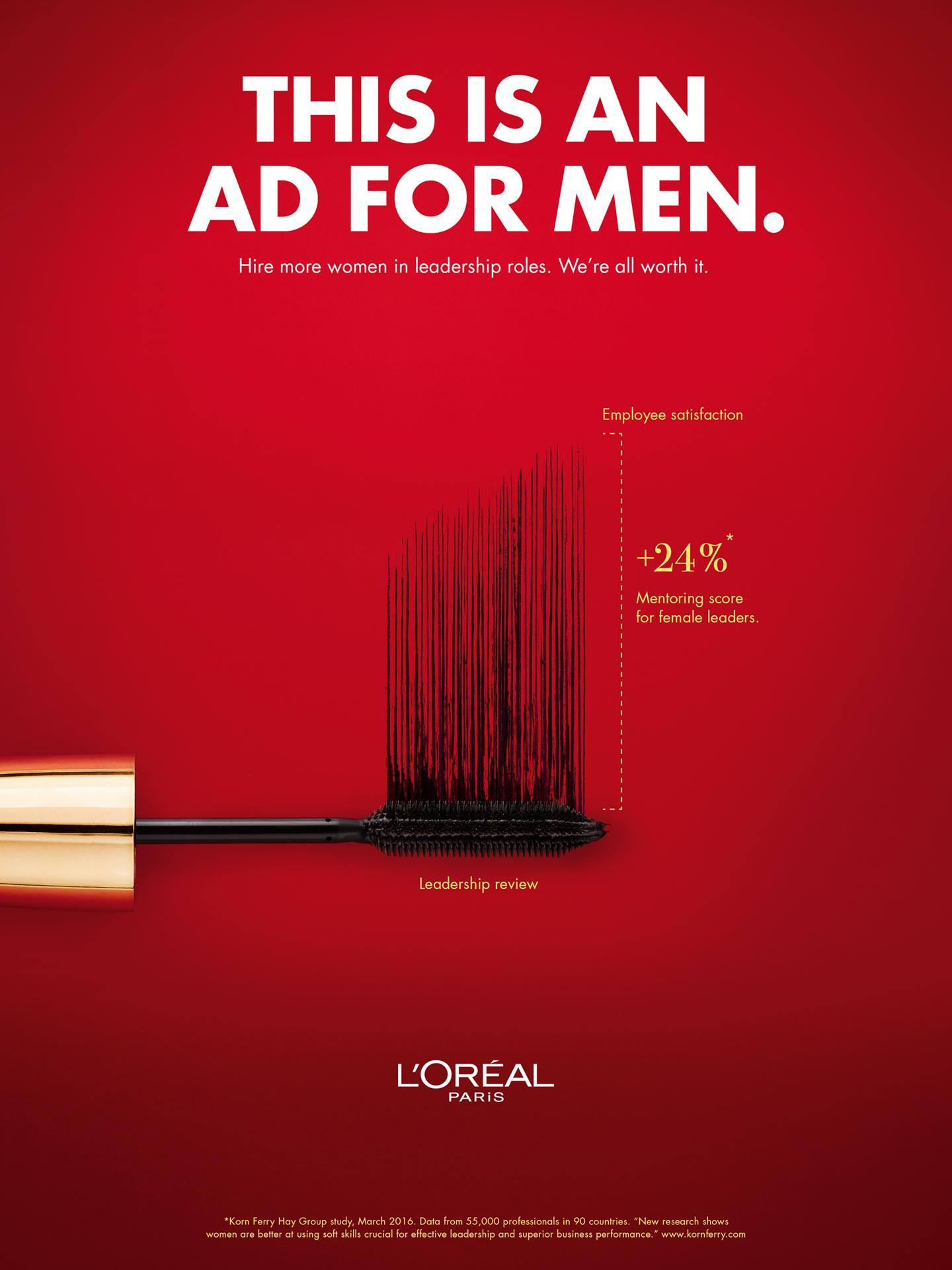 L'Oréal's 'ad for men' campaign shares why hiring female ...