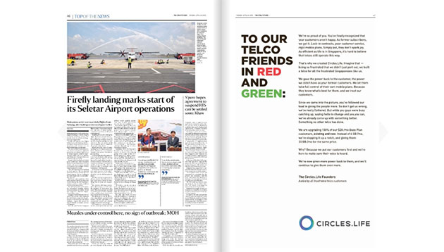Circles Life publishes open letter on newspapers for fellow