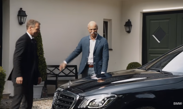 BMW posts farewell video for retiring Mercedes-Benz CEO ...