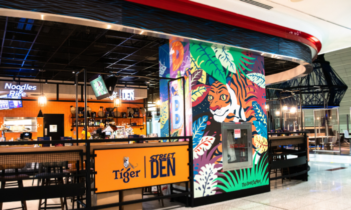 Tiger Beer brings experiential store concept to Dubai