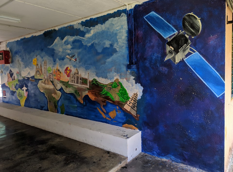 Nippon Paint And R E A L Schools Paint Walls Inspired By Murals In