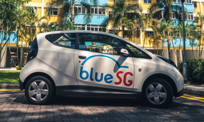 Electric car sharing firm BlueSG looks to move into OOH ad space