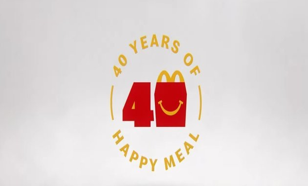 40 years of McDonald's Happy Meals
