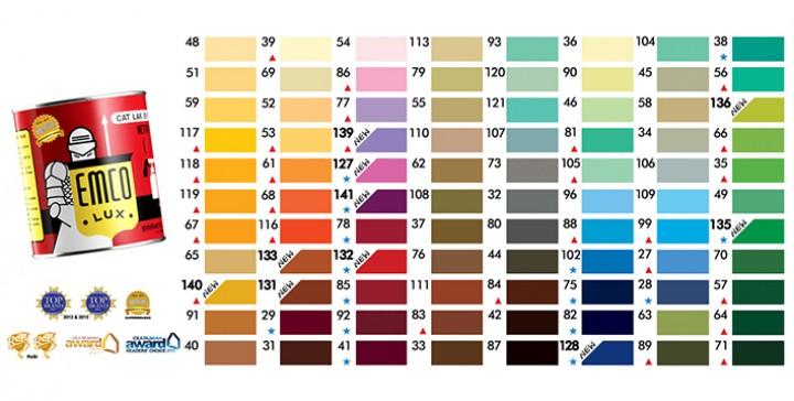 Bangunan Kita Katalog Warna EMCO