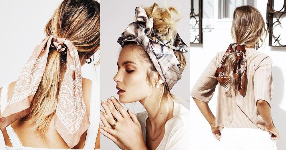 夏天綁頭髮必備!只要具備這3件配飾單品,打造清新氣質和高貴文藝的造型一點都無難度~!