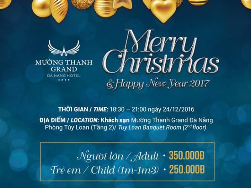 Rộn ràng chào đón Giáng Sinh 2016 tại khách sạn Mường Thanh