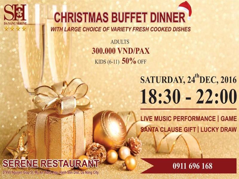 Trải nghiệm một mùa Giáng sinh an lành tại khách sạn Serene