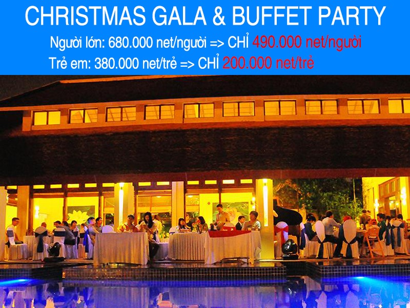 CHRISTMAS GALA & BUFFET PARTY