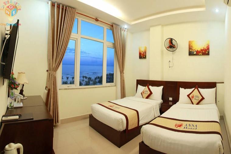 Phòng 2 giường hướng nhìn ra biển