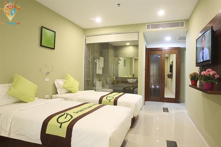 Phòng Senior Deluxe 2 giường đơn hoặc 1 giường đôi hướng biển