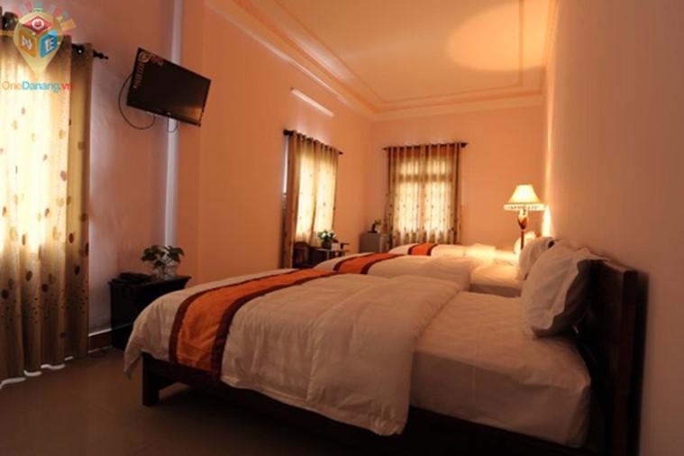Phòng Standard 3 giường đôi 1,6m