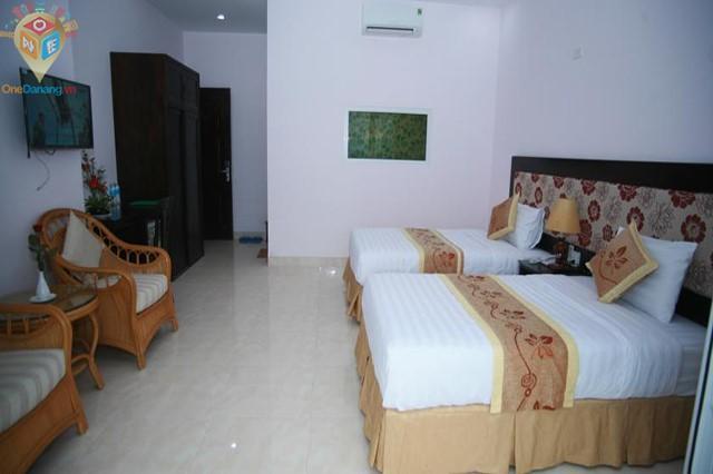 Phòng ngủ hướng vườn