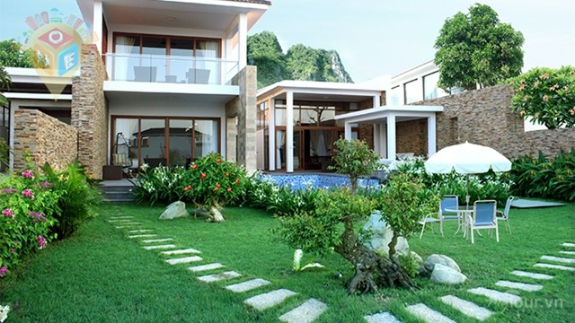 Villa 4 Phòng Ngủ: Lagoon Villa