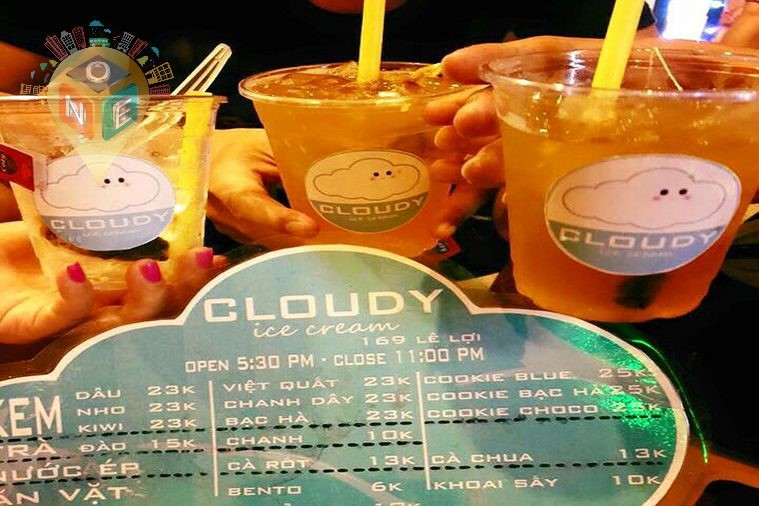 Cloudy Ice Cream