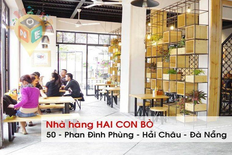 Beefsteak Hai Con Bò - Phan Đình Phùng