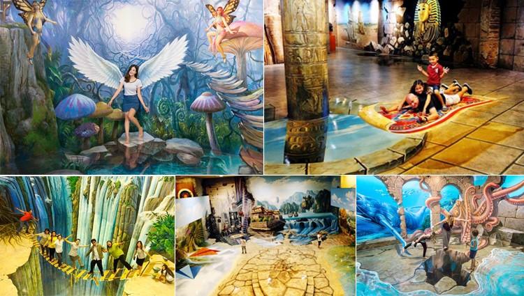 Tưng bừng khai trương bảo tàng 3D hoành tráng nhất miền Trung