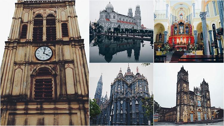 Tháng 3 đến thăm xứ sở của những nhà thờ đẹp hút hồn