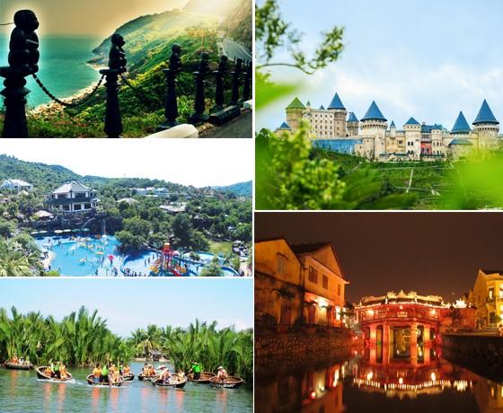 Tour Hội An - Rừng Dừa Bảy Mẫu - Bà Nà - Núi Thần Tài - Sơn Trà ( Khách sạn Hội An, Đà Nẵng)