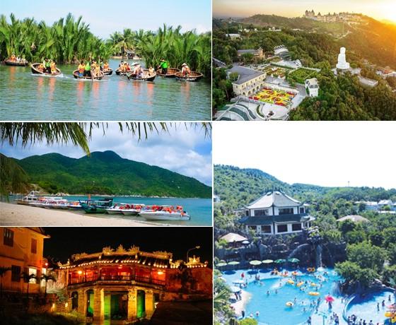 Tour Hội An - Rừng Dừa Bảy Mẫu - Cù Lao Chàm - Bà Nà - Núi Thần Tài ( Khách sạn Hội An, Đà Nẵng)