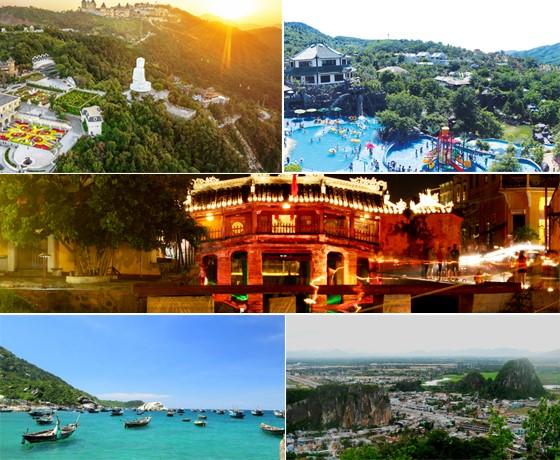 Tour Đà Nẵng - Hội An- Cù lao chàm - Bà Nà - Núi Thần Tài 4 ngày 3 đêm