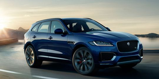 Jaguar F-PACE VS BMW X6